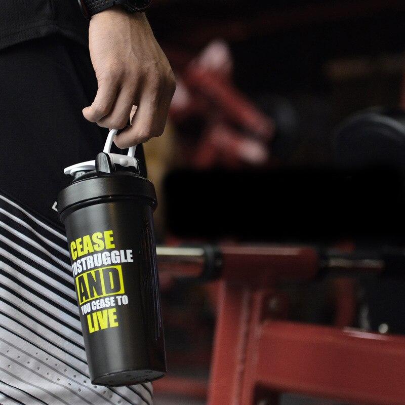 TECHOME Protein Shaker Blender Shaker Bottle Mixer Bottle Drink Whisk Bottle Cocktail Gym For Hiking Climbing
