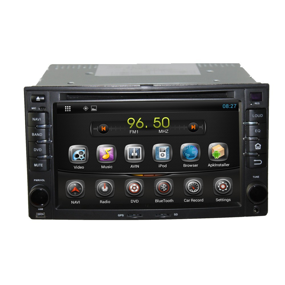 Quad Core Android 4 4 Car DVD GPS Navigation Player For Cerato Sportage CEED RIO GPS