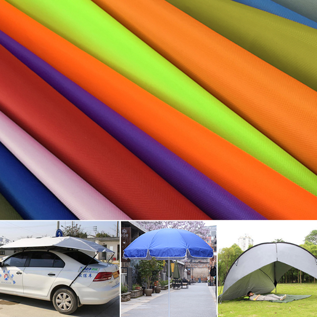 free shipping 1*1 5m 300D WR Oxford fabric silver coating waterproof fabric  sun shade rainproof awning fabric