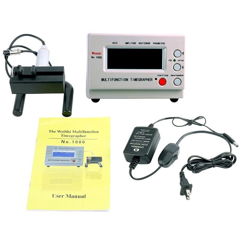 Cronómetro de reloj mecánico para reparadores y aficionados, cronógrafo No. 1000