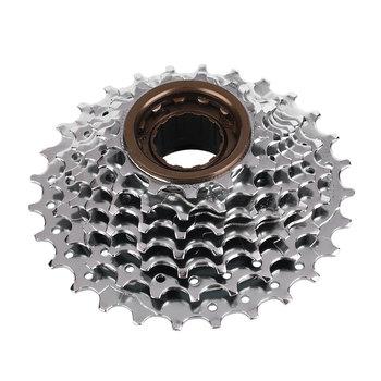 MTB rower górski rowerowa jazda na rowerze 7 prędkości koła zamachowego 13-28T mechanizm korbowy koło tylne rower kasety na świeżym powietrzu kolarstwo sportowe części rowerowe tanie i dobre opinie STEEL 12-18 t CN (pochodzenie) Wolnobieg 7 Speed Flywheel