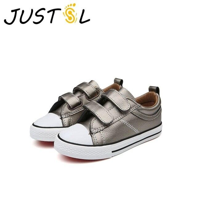 aa2dc20d5d9b JUSTSL 2017 herfst kinderen school sportschoenen nieuwe tiener mode sneakers  voor meisjes outdoor kids casual schoenen