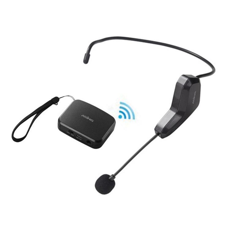 Hot Sale 2.4G Trådlös Mikrofon Tal Headset Megafon Radio Mikrofon - Bärbar ljud och video