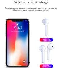 I7-mini TWS Mini Bluetooth Sem Fio Fone de Ouvido Bluetooth Esporte Fone de Ouvido Fone de Ouvido Intra-auriculares Para IPhone Xiaomi Samsung IOS Android