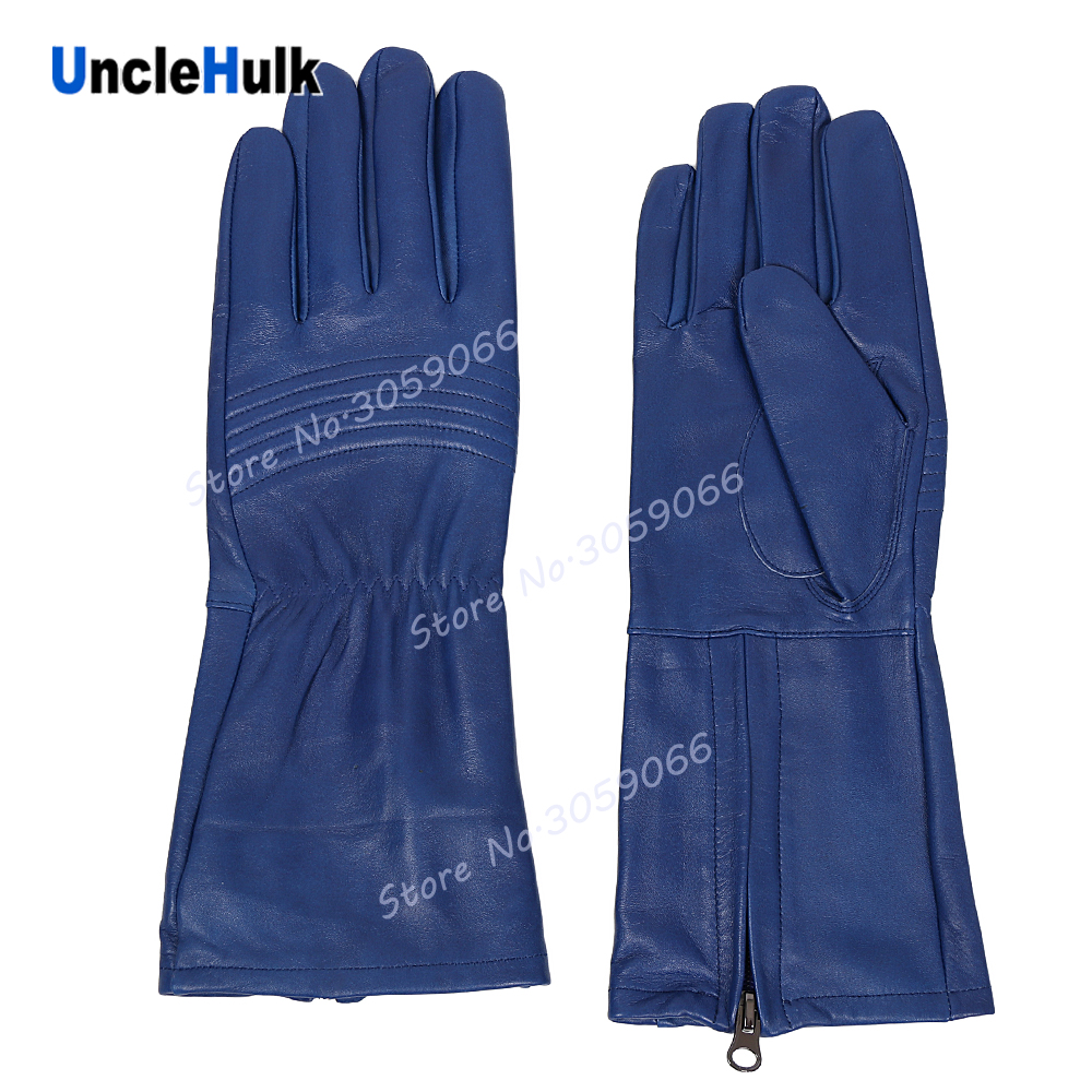 Super Sentai's Genuine Leather Gloves Cosplay Props Masked Rider Gloves   one size only  UncleHulk-in Movie & TV costumes from Novelty & Special Use    2