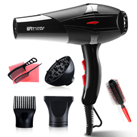 Professional 3200W Strong Power Hair Dryer for Hairdressing Barber Salon Tools Blow Dryer Low Hairdryer Hair Dryer Fan 220 240V
