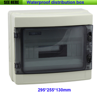 Free Shipping Project Box Plastic Electronic Enclosure Custom ABS Plastic Enclosure Power Distribution Box 295 255