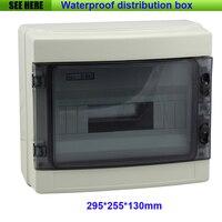 Free Shipping Project Box Plastic Electronic Enclosure Custom ABS Plastic Enclosure Power Distribution Box 295 255