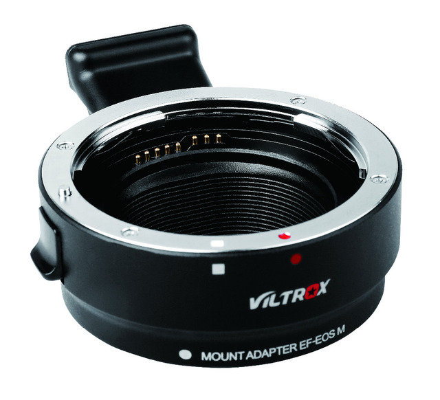 Viltrox EF-EOS M Metal Electronic Auto Focus Lens Adapter For for EF EF-S Lens to EF-M EOS M camera