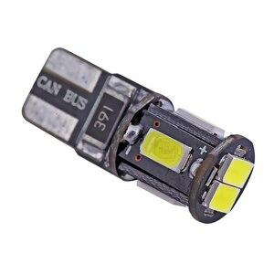 Image 5 - Ánh Sáng bên ngoài 500 x Lỗi Miễn Phí T10 dẫn canbus w5w led 5630 5730 t10 6Smd Ánh Sáng W5W T10 LED Nội Thất Cụ bóng đèn đèn