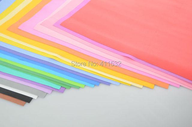 24 color 50*50cm sponge foam paper for background fold scrapbook craft Punch stamping up DIY gift decor card toy CA13120137