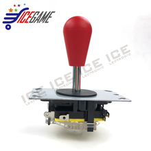 ICEGAME Classic 4/8 way DIY Joystick Red Ball Fighting Stick Replacement Parts For Game