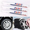 Hot selling White Tire Tread Rubber Paint Marker paint-mending Pen Car Motorcycle Tire Metal