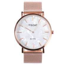 TIBOAT Super Slim Sliver Mesh Stainless Steel Watches Women Top Brand Luxury Casual Clock Ladies Wrist Watch Relogio Feminino dom sliver mesh stainless steel watches women top brand luxury casual clock ladies wrist watch relogio feminino g 36d 1m