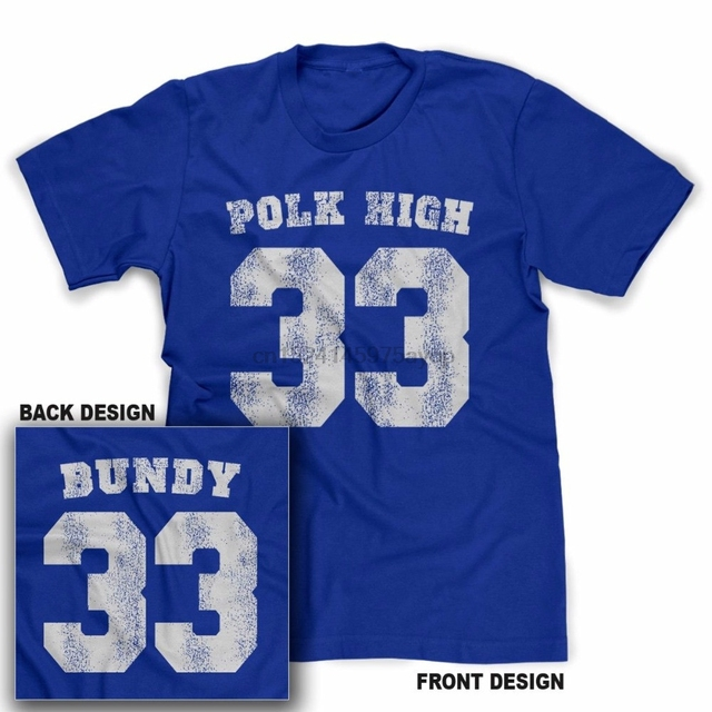015c28a7c Polk High T-Shirt Al Bundy Married With TEE Children Funny No Maam T Shirt  For Men US Size S-3XL