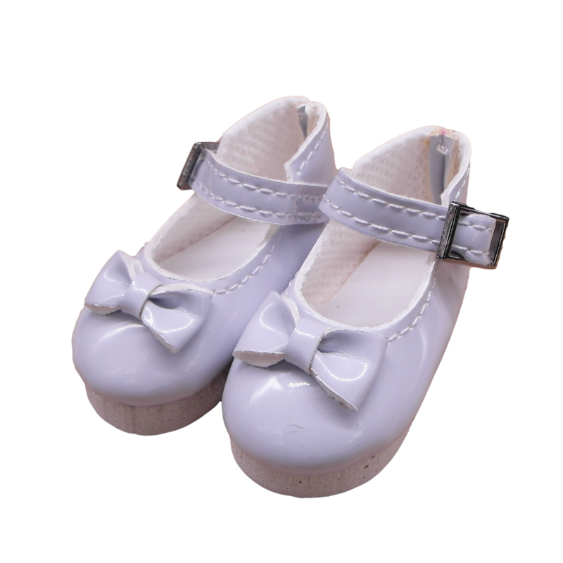 PU Leather Shoes For Paola Reina Doll Toy,1/4 Mini Doll Shoes for Corolle Dolls Butterfly Design 6cm Toy Doll Shoes 5 Pairs/lot paola reina кукла вики 47 см paola reina