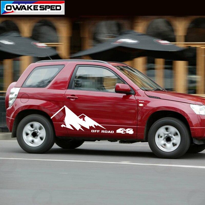 Off Road Stickers Suzuki Vitara Tout Terrain ref8 SUV Autocollant 4x4