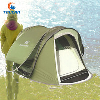 Toucan 3 4 Person Automatic Pop Up 240*160*100CM Fast Open Camping Tent Beach Tent Barraca Tenda Fishing Tent
