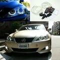 Para Lexus IS220 IS250 IS350 IS-F 2006 2007 2008 2009 2010 Excelente Ultrabright CCFL Angel Eyes kit de iluminação ccfl Auréola anel