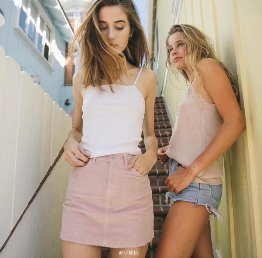 HTB11pJKSFXXXXbQXpXXq6xXFXXXM - Pink pencil skirt zipper mini skirts womens PTC 201