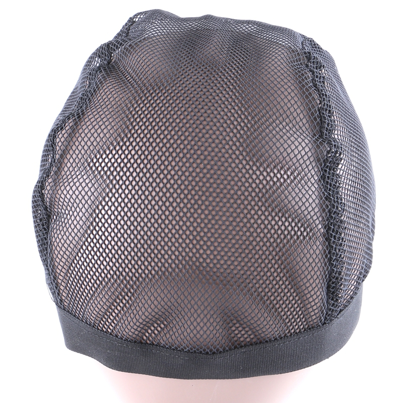 Black Stretchable Elastic Hairnets Wig Cap 2