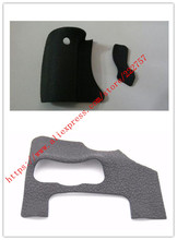 Um conjunto de 3 pçs novo aperto dianteiro lado volta polegar borracha capa unidade para canon para eos 600d rebel t3i beijo x5 + fita adesiva