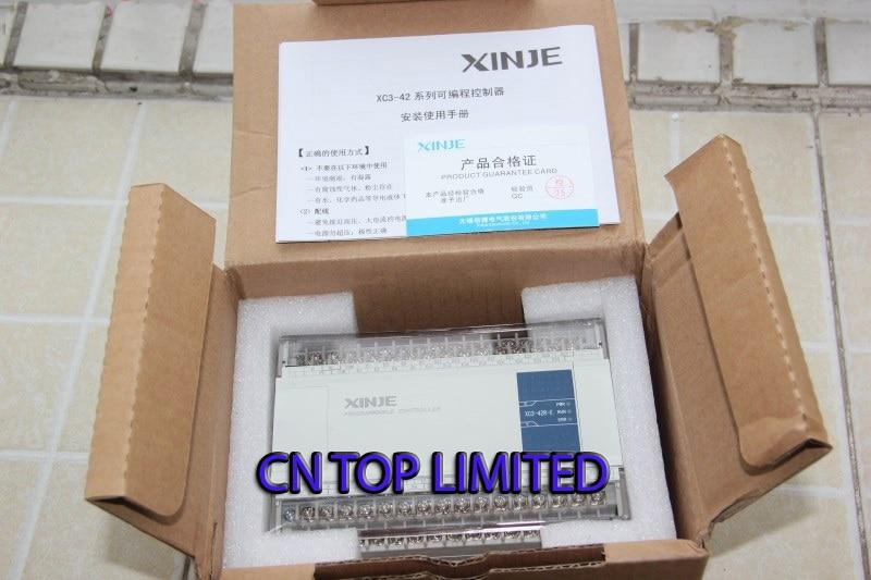XC3-42R-E XINJE XC3 Series PLC AC220V DI 24 DO 18 Relay new in box xc3 48rt e xinje xc3 series plc ac220v di 28 do 20 relay transistor mixed output new in box