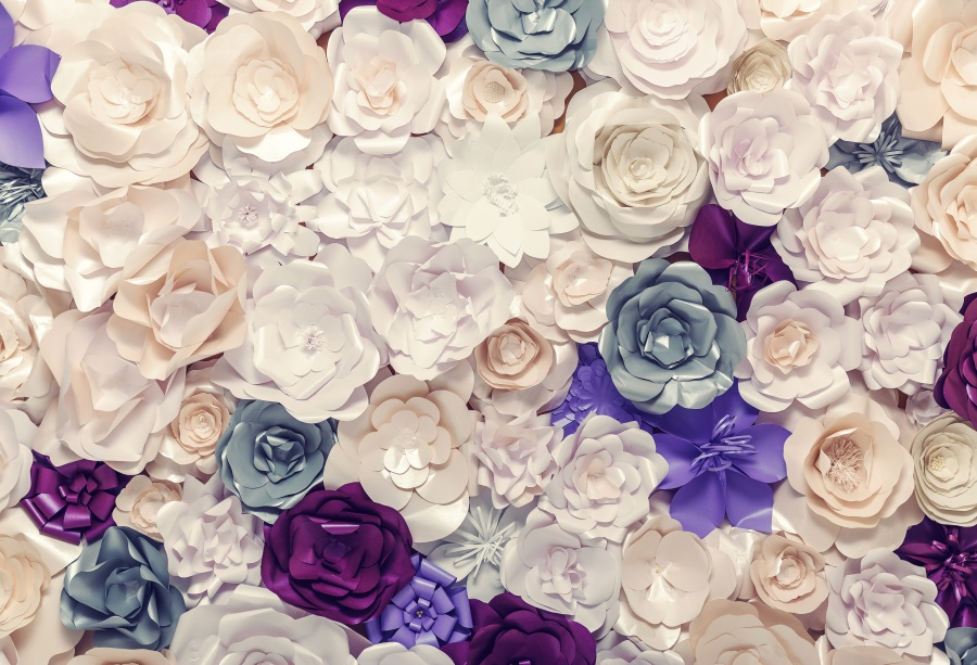 Laeacco Blossom Flower Rose Wedding Wall Birthday Party Decor Baby Portrait Photographic Backgrounds Photo Backdrop Photo Studio