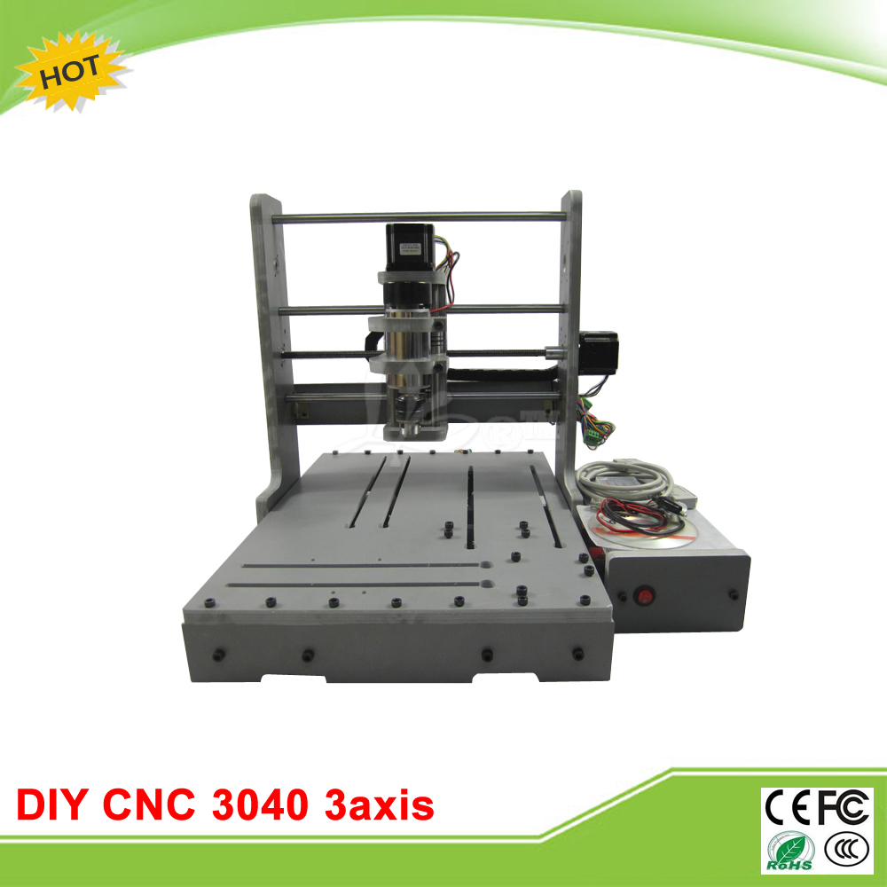 LY mini CNC router DIY 3040 3 axis mini CNC drilling machine free tax to EU metal engraving machine 3040 engraver 800w cnc machine to eu country free tax