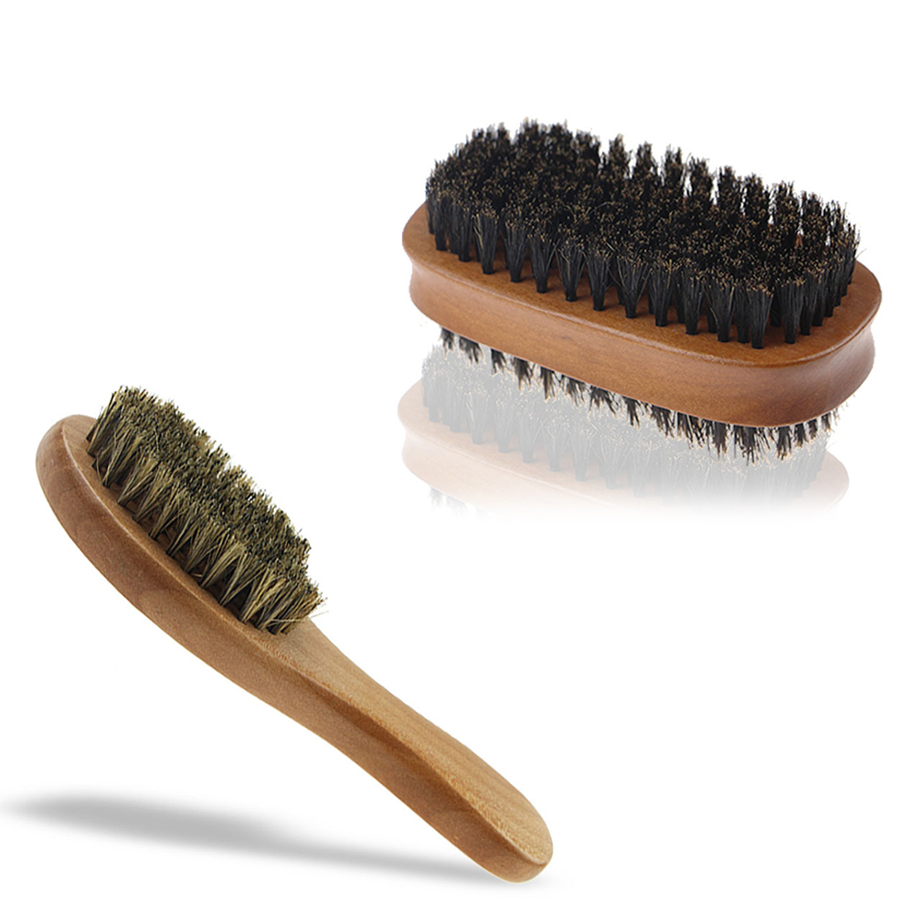 US $2 92 25% OFF|New Hairdressing Comb Natural Boar Bristle Hair Brush Comb  Hair Styling Combs Beard Hair Stylish Brushes-in Combs from Beauty &