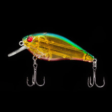 WALK FISH 1PCS 6.3cm 14g VIB Crankbait 3D Eyes Fishing Lure High Quality Fishing Bait 8# Strong Treble Hooks Fish Wobbler Pesca