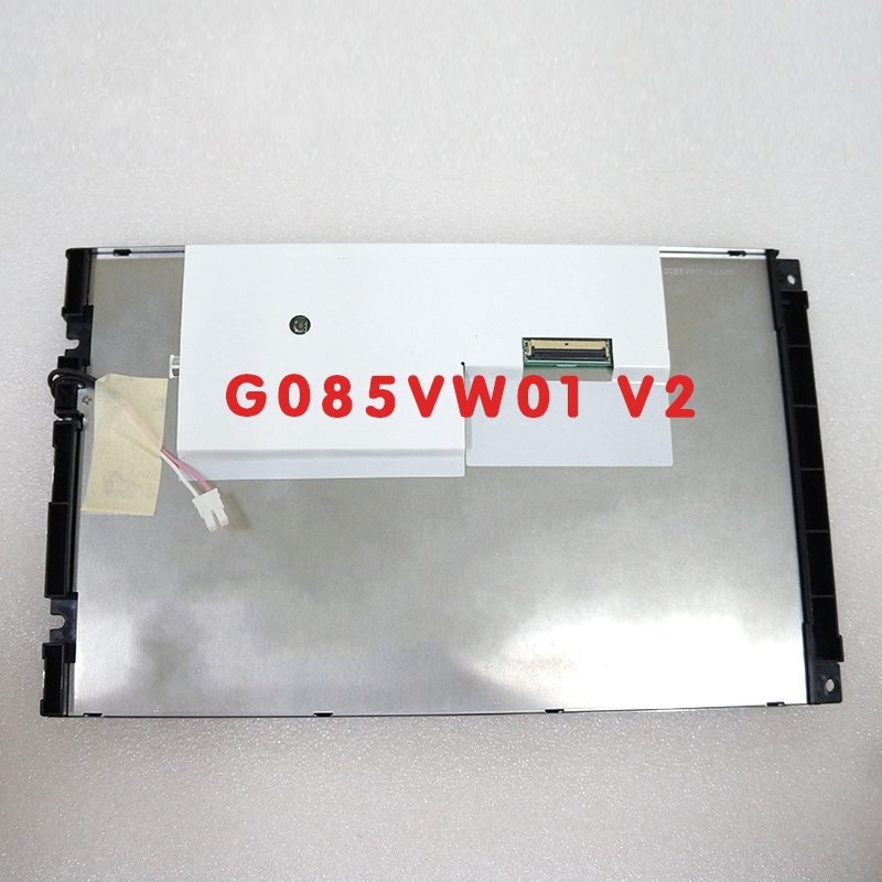 8.5 inch G085VW01 V2 LCD screen industrial screen 800*480, free delivery. lsa40at9001 display screen 10 4 inch industrial lcd screen free delivery