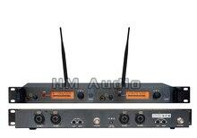 In Ear Monitor Do Sistema de Monitoramento SR2050 Duplo transmissor Sem Fio Profissional para o Desempenho Do Estágio no receptor