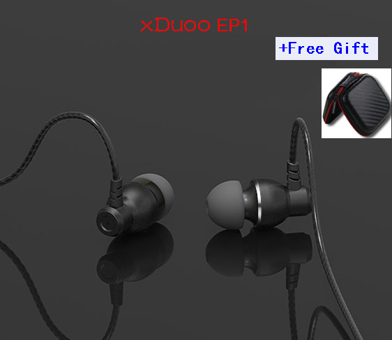 100% Original Xduoo EP1 10mm Dynamic Earphone Hifi Dynamic Driver  HIFI Bass Earphone Earbuds Subwoofer Cable with free bag original senfer dt2 ie800 dynamic with 2ba hybrid drive in ear earphone ceramic hifi earphone earbuds with mmcx interface
