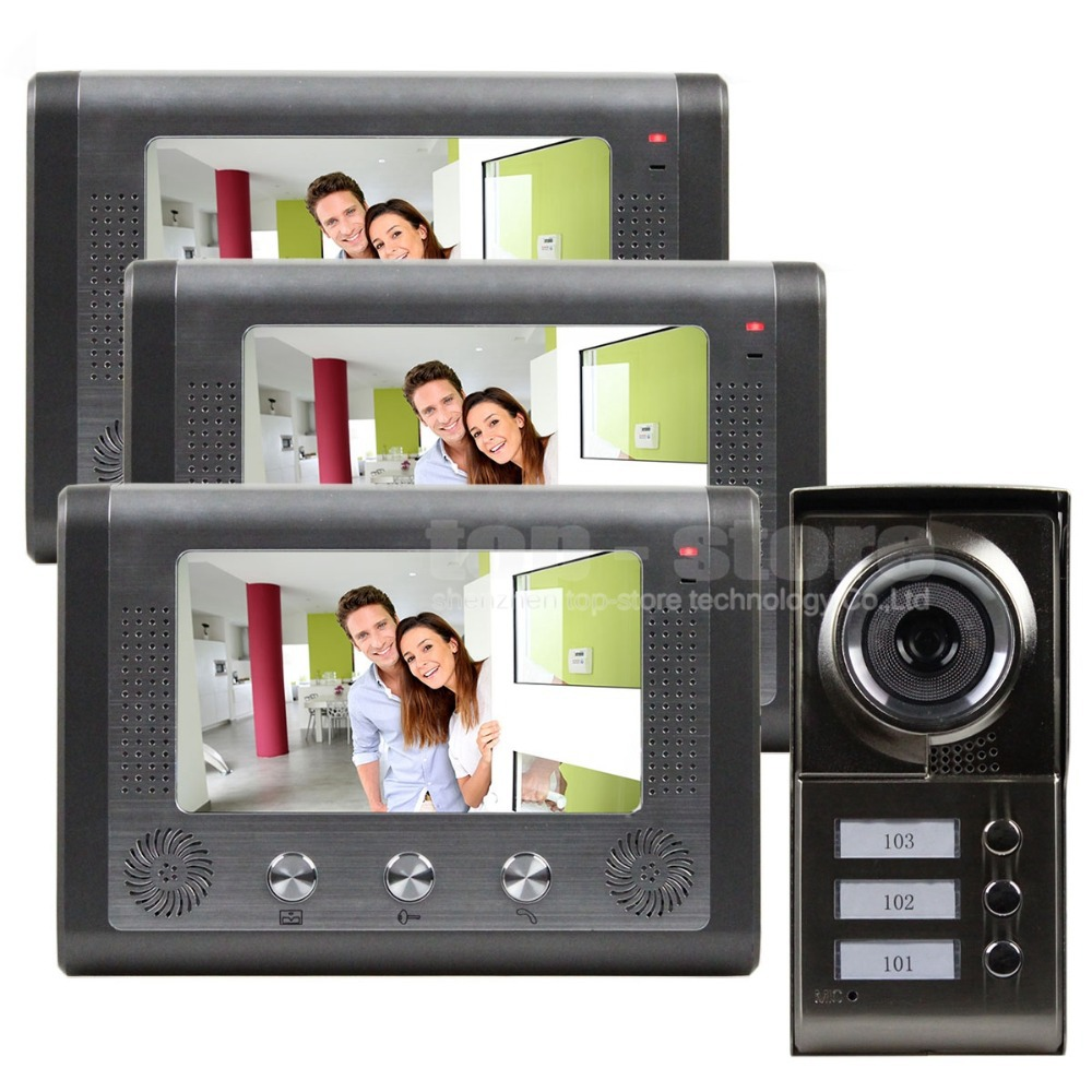 Buy diysecur new 7 inch video door phone for Door video camera