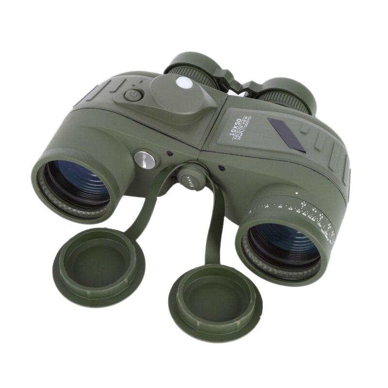 10x50 Waterproof Navy Telescope Binoculars Fogproof rangefinder with Illuminant Vision Hunting Night Reticle Compass HD10x50 Waterproof Navy Telescope Binoculars Fogproof rangefinder with Illuminant Vision Hunting Night Reticle Compass HD