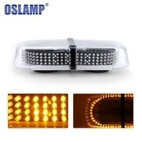 Oslamp 240 LEDs 12V Mini Magnetic Pods Top Lamp Police Lights Car Led Emergency Strobe Flash Warning Light Amber Car Styling