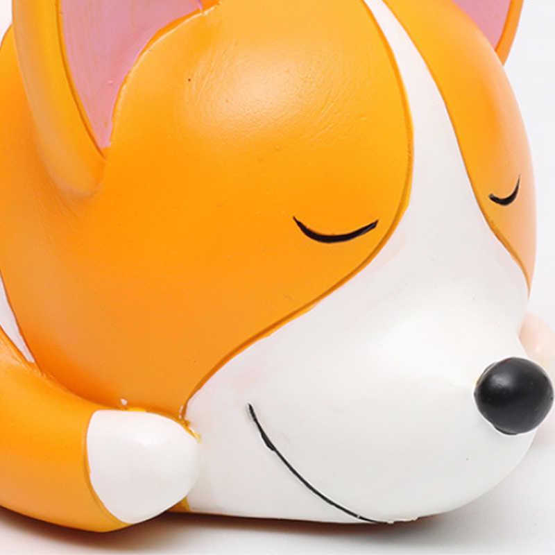 Creativo Cartone Animato Animale Cucciolo Carino Multi-a base di carne Della Resina Vaso di Fiori In Vaso Decorazione Dell'ufficio Artigianato Bonsai Giardino di Casa Yard Decor