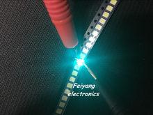 100 шт. SMD светодиодный 3528 холодный синий светодиод, лампы, бусины, светоизлучающие диоды, Прямая продажа с завода