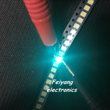 100pcs SMD LED 3528 Ice blue LED lamp beads Light emitting D