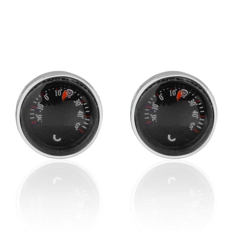HYX Luxury Fashion cufflinks for mens Brand cuff buttons cuff links High Quality car temperature meter abotoaduras Jewelry