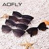 AOFLY Fashion Cat Eye Sunglasses Women Brand Designer vintage sun glasses Women Fashion Eyeglasses high quality eyewear oculos 5