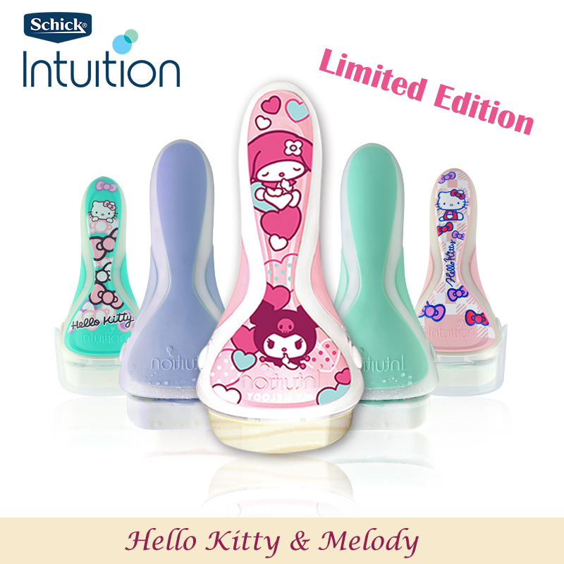 HOT Original Schick Intuition Razor Limited Edition Lady shaver Safe & Clean best protection manual epilator women in stock