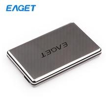 Original Eaget G50 1TB Full Stainless Steel Shockproof Enclosure USB 3.0 High-Speed HDD Desktop Laptop Mobile Hard Disk