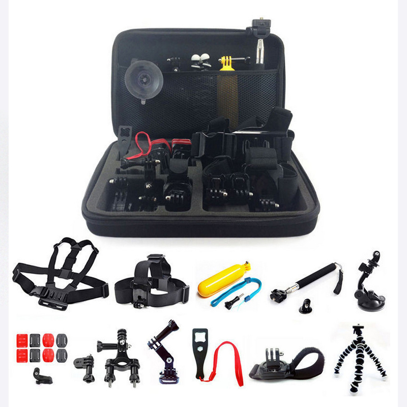 Aliexpress Com Buy Full Set Xiaomi Yi Action Camera Accessories Set Bundles Set Kit Outdoor