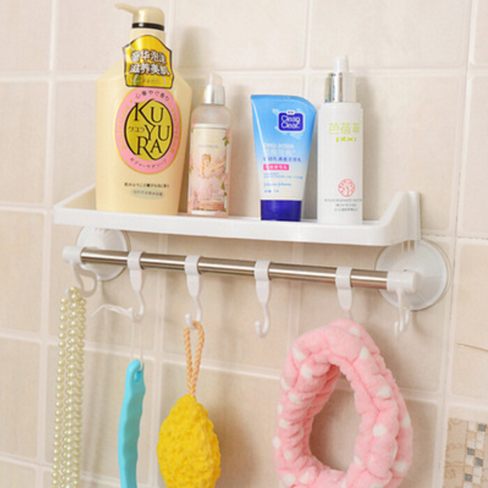 accessori bagno ventosa offerte storage holder bathroom sucker shelf acquista a poco prezzo