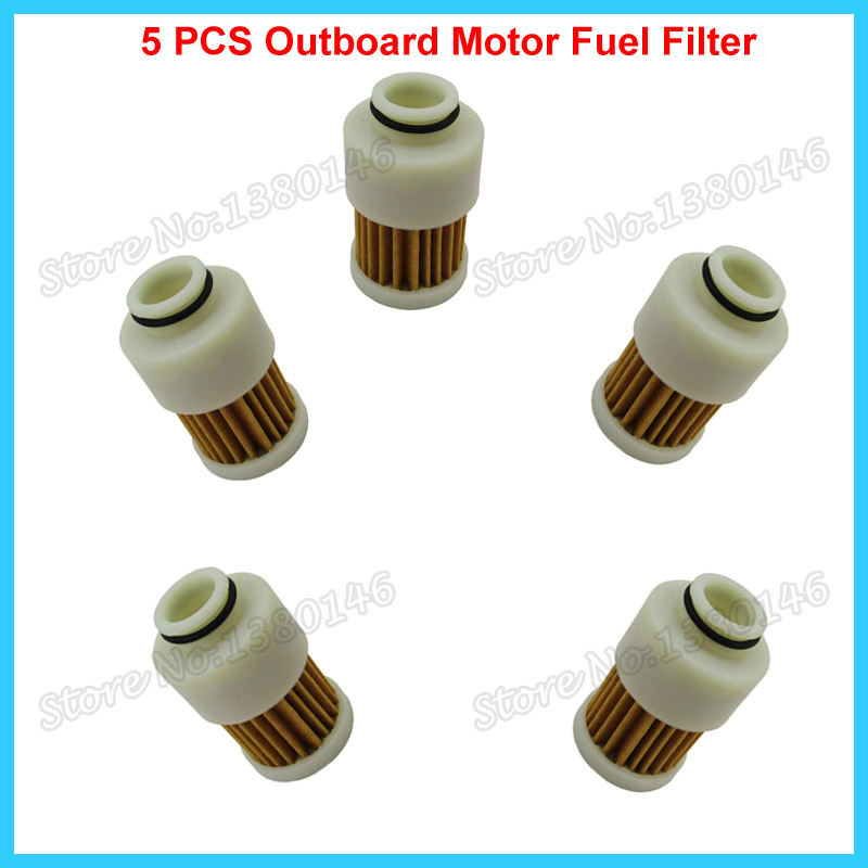 5 PCS Fuel Filter For Mercury Outboard Motor 75HP 90HP 115HP 881540