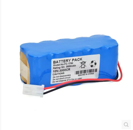 HOT NEW  FC-1760 FC1760 rechargeable battery pack 10N-2000SCC 12V 2000mah Defibrillation apparatus battery  111*45*43mm hot new battery 12n 1600scb 12n1600scb 12n 1600scb 14 4v 1600mah battery pack with plug