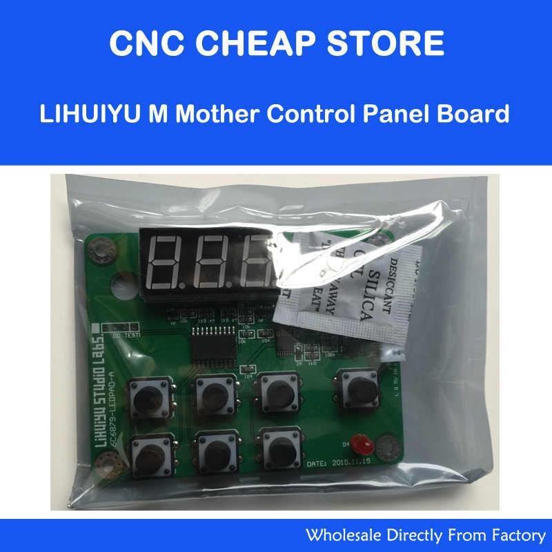 CO2 Laser Rubber Stamp Engraving Machine K40 LIHUIYU M Mother Control Panel  Board Co2 Laser Engraver Cutter DIY 3020 3040