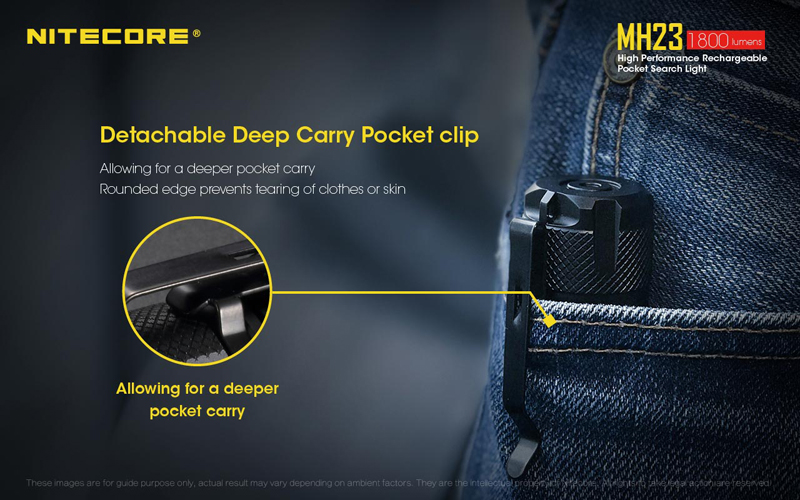 Nitecore MH23 Pocket Search Light (17)